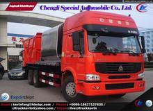 Synchronous Chip Sealer Truck Asphalt Paver Truck