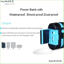 Travel essential long lasting ce rohs backup battery waterproof outdoor power bank