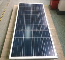 12v solar panel poly crystalline 120w-150w , price per watt solar panels a grade