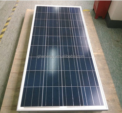 12v solar panel poly crystalline 120w-150w , price per watt solar panels a grade
