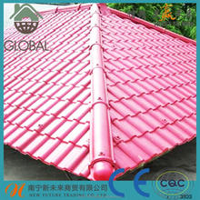 Color Stable Reinforced Synthetic Resin Plastic Roofing Tiles