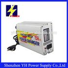 15a 12v selada de chumbo ácido de bateria carregador com display lcd