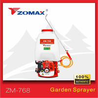 Agriculture and Garden home wholesale zomax 26cc gasoline engine trigger knapsack power sprayer
