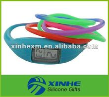 new arrival long strap balance ion silicone watch 2012