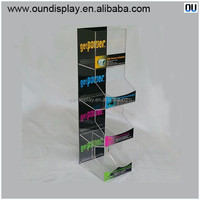 retail shop cell phone accessories display stand acrylic