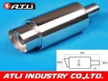 Atli Hot-selling Car Exhaust Muffler High Quality Car Exhaust Muffler Stainless steel Car Exhaust pipe