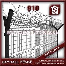 Airport Fence Mesh/peach Type Column Fence Netting/bilateral Guardrail