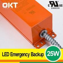 5 years warranty 8w 12w 18w 25w ul led emergency power pack