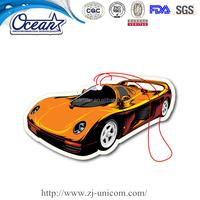 Custom cheap hanging paper car air freshner