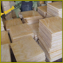 Lowest china tiles in pakistan, Five star hotel onyx marble tiles for floors, nice yellow gold marble tiles
