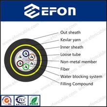 factory 4core singlemode fiber optic cable