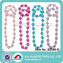 trendy hübsche neueste mädchen kunststoff mini armband perlenkette spielzeug