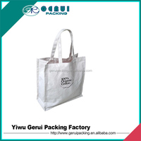 recyclable cotton shopping bag
