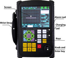 KS650 NDT equipment/ Portable Digital Ultrasonic Metal Flaw Detector