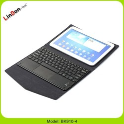 2015 Hot New Touchpad Bluetooth Keyboard for 9 & 10 Inch Tablets BK910-4