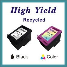 Replacement for HP 61 XL Black/Color Ink jet Cartridge