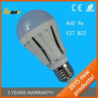 E27 led bulb leb light 180 degree A60 Bulb 9W replacment
