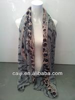 New Stylish Leopard Animal Print Scarf For Fashion Lady