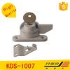 upvc door and window accessories upvc sliding door lock,aluminum sliding crescent door lock,lock for sliding door(KDS-I007)