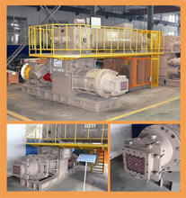 German technology full automatic vacuum extruder clay brick plant layout