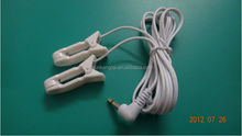 Ear clip electrode For TENS EMS machine/Electronic pulse massager/Electrical nerve muscle stimulator/TENS UNIT