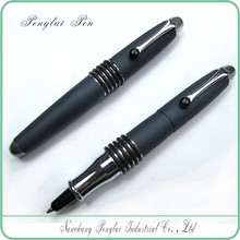 2015 unique top seller metal ball pen sports short small black pen