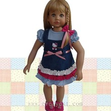 fashion dress up online doll dress-up girl game/lovely baby doll stroller toy/plastic life size dolls
