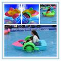 Ce / TUV certificación colorido y duradero de inyección de plástico pontón inflable bote de remos