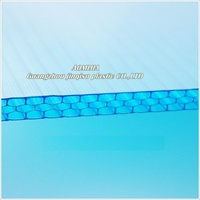 Fast Installation lightweight aomijia 8mm polycarbonate hollow sheet