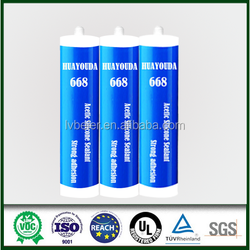Strong adhesion aquarium 100% silicone sealant