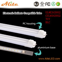 Heat-resistant UL DLC listed 14 /18/22w 4ft 120cm plug and play t8 led glass test tube