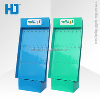 Factory Price OEM acceptable Custom Design Cardboard hook Display for mobile phone accessories