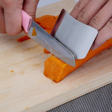 Hot sale stainless steel chop safe finger guard protector / cutting guard /safe slice