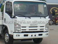 Original ISUZU Small Automatically Compactor Garbage Truck Dimensions