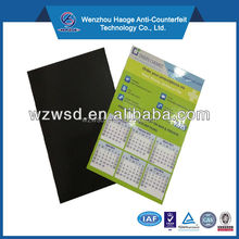 Custom 2016 paper fridge magnet calendar fridge magnet