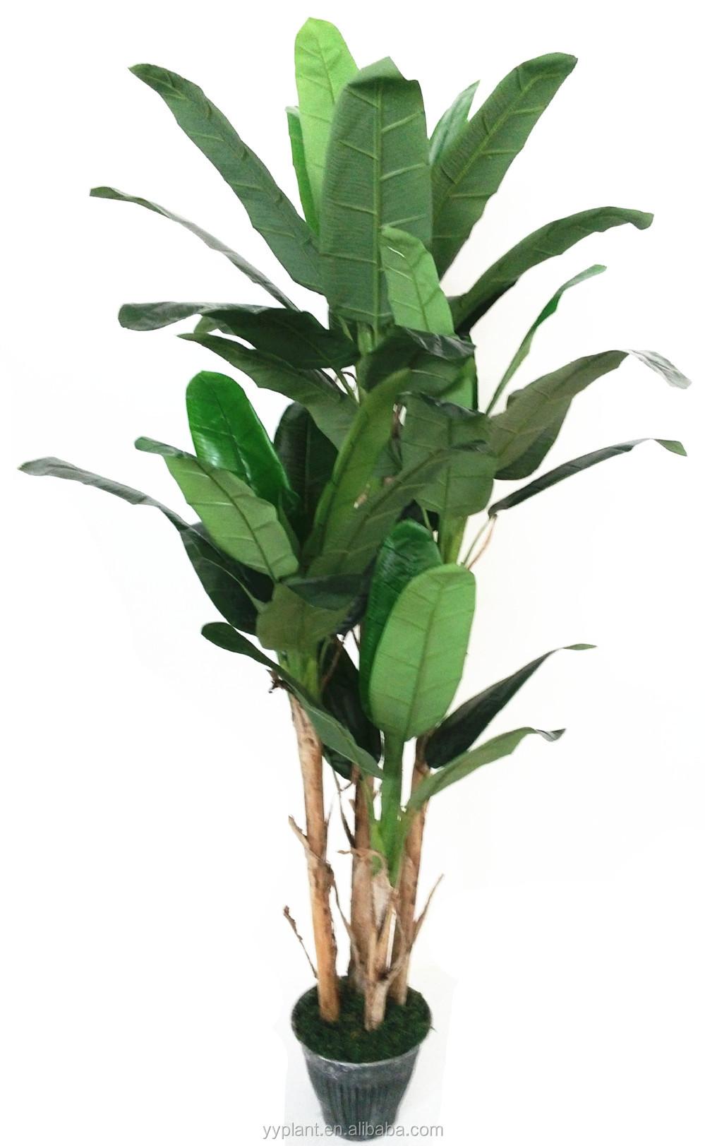 4 brach fausse banane arbre d coratif pour l 39 ext rieur ou for Arbre decoratif exterieur