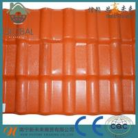 Brand new monier villa spanish synthetic resin steel roof tile made in China