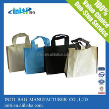 color design pictures printing/ non woven tote shopping bag with any printing