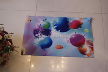 Factory direct selling non-slip safe and health plastic bathroom floor mat