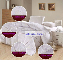 luxury goose feather quilt/duvet/comforter
