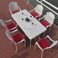 Hotsale Heavy Duty All Weather Rust Free Cast Aluminum Outdoor Patio Furniture