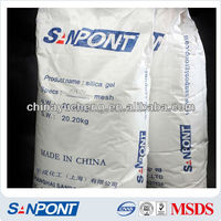SANPONT Agent Required Reagent Grade Silica Gel 60 Manufacturing Company