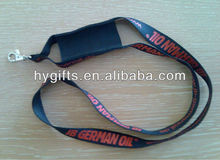 Customized Imprinted cell phone lanyards