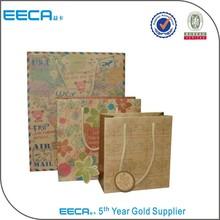 Fashion paper bag records/paper bag craft in Dongguan China