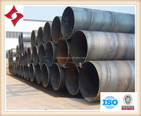 DIN EN API 5L SSAW/HSAW/ERW High Strength Spiral Welded Steel Pipe/Tube for Oil or Gas