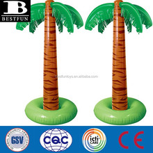 big inflatable palm tree for indoor decoration plastic inflatable palm tree cooler for sale