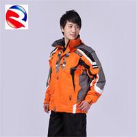 cheap brand mid-thigh length ski down jacket coat
