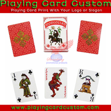 customized caspari playing cards