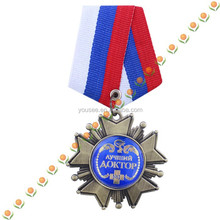corporate gift 3d medals badge reel for souvenir
