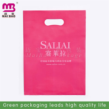 non toxic and biodegradable material manufacturer packaging die cut fashion bag